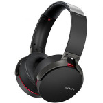 Casti on-ear Bluetooth SONY MDR-XB950B1B, Extra BASS, NFC, Wireless, Negru