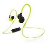 Casti in-ear cu microfon Bluetooth HAMA Run BT, galben