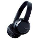 Casti on-ear cu microfon Bluetooth JVC HA-S40BT-B-E, negru