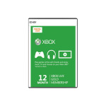 Card Xbox Live GOLD 12 luni Xbox 360 / Xbox One - CD Key cod digital