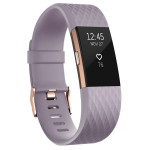 Bratara Fitness FITBIT Charge 2 Lavender Rose Gold, Small