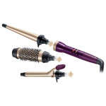 Set ondulator REMINGTON Your Style Ci97M1, 3 setari temperatura, violet