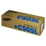 Toner SAMSUNG CLT-C505L/ELS, cyan