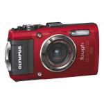 Camera foto digitala compacta OLYMPUS TG4, 16 Mp, 4x, 3 inch, rosu