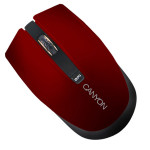 Mouse Wireless CANYON CNS-CMSW5R, 1280dpi, rosu