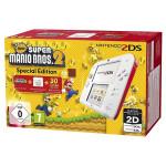 Consola Nintendo 2DS Special Edition alb / rosu + joc New Super Mario Bros. 2 preinstalat
