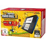 Consola Nintendo 2DS Special Edition negru / albastru + joc New Super Mario Bros. 2 preinstalat