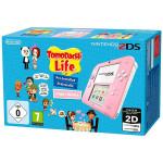Consola Nintendo 2DS Special Edition roz / alb + joc TomoDachi Life preinstalat