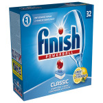 Tablete FINISH Powerball Classic Lemon, 32 buc