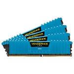 Memorie desktop Corsair Vengeance LPX Blue 4x8GB DDR4, 2666MHz, CL16, CMK32GX4M4A2666C16B