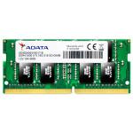 Memorie laptop ADATA 8GB DDR4, 2400MHz, CL17, AD4S2400W8G17-S