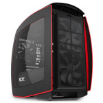 Carcasa NZXT Manta black-red, 2 x USB 3.0, mini-ITX, CA-MANTW-M2