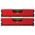Memorie desktop Corsair Vengeance LPX Red 2x16GB DDR4, CL14, CMK32GX4M2A2400C14R
