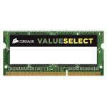 Memorie laptop Corsair ValueSelect 8GB DDR3L, 1600MHz, CL11, CMSO8GX3M1C1600C11