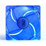 Ventilator DEEPCOOL Xfan 120L/B blue led, 1x120mm, 1300rpm