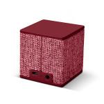 Boxa portabila FRESH 'N REBEL Cube 180359, Bluetooth, Ruby