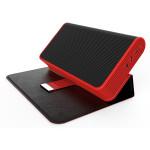 Boxa portabila MYRIA MY8019RD, 2x3W, Bluetooth, Rosu