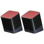 Boxa portabila HAMA Twins, Bluetooth, Black/Red