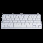 Tastatura Wireless MYRIA MY8060, USB, alb-argintiu