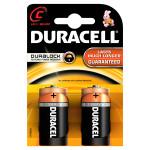 Baterii DURACELL C Basic Duralock, 2 bucati