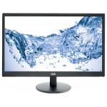 "Monitor LED AOC E2470SWHE, 23.6"", Full HD, negru"