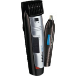 Aparat de tuns BABYLISS W-Tech Beard Trimmer + Nose Trimmer Style Edition E825PE