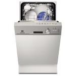 Masina de spalat vase semi-incorporabila ELECTROLUX ESI4200LOX, 9 seturi, 5 programe, 45 cm, A, inox