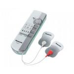 Electrostimulator Tens PANASONIC EW6011S800, 2 electrozi, 6 programe, alb -gri