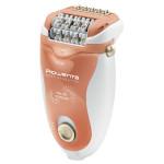 Epilator ROWENTA Soft Sensation EP5720F1, retea, tehnologie micro-contact, alb-portocaliu