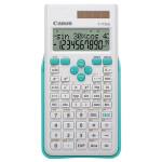 Calculator stiintific CANON F-715SG, 10+2 (calcule interne cu pana la 16 cifre), alb-albastru