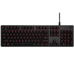 Tastatura gaming mecanica LOGITECH G413 Carbon Red US INT Layout