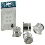 Protectie butoane PS4 - Zedlabz Alloy Metal Directional D Pad, silver