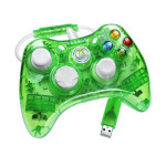 Controller MICROSOFT Xbox 360, Rock Candy - Aqualime