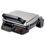 Gratar electric TEFAL Contact Grill Ultracompact GC3050, 2000W, argintiu