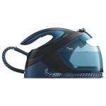 Statie de calcat PHILIPS PerfectCare Performer GC8735/80, talpa SteamGlide Plus, 2600W, 1.8l, 420 g/min, albastru