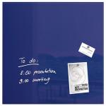 Tabla magnetica-sticla artverum® SIGEL GL113, 48 x 48 cm, violet