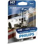 Bec auto PHILIPS H7 RacingVision+150% 12V 55W