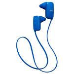 Casti in-ear cu microfon Bluetooth JVC HA-F250BT-AE, albastru