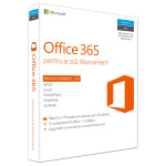 Microsoft Office 365 Home, 32/64 bit, Romana EuroZone, Subscriptie 1 an, 5 PC/Mac, 5 Tablete, 5 Telefoane