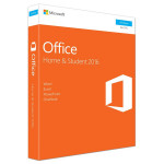Microsoft Office Home and Student 2016, Windows PC, Engleza EuroZone, Medialess P2