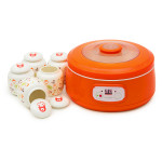 Aparat pentru preparat iaurt OURSSON FE1502D/OR, 1l, 1 program, portocaliu