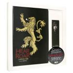 Gift Set Game of Thrones - Lannister Notebook + Semn de carte magnetic