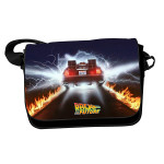 Geanta Back To The Future - Delorean Car Trails With Flap
