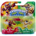 Set 2 figurine Fire Kraken, Grilla Drilla - Pack 4 - Skylanders SWAP Force