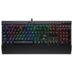 Tastatura gaming mecanica CORSAIR K65 Lux - Cherry MX Black NA, negru