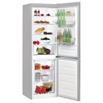 Combina frigorifica INDESIT LR7 S1 S, 307l, A+, argintiu