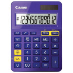 Calculator de birou CANON LS-123K, 12 cifre, violet