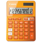 Calculator de birou CANON LS-123K, 12 cifre, orange