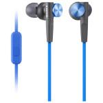 Casti in-ear cu microfon SONY MDR-XB50APL, albastru