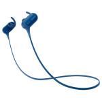 Casti sport in-ear cu microfon Bluetooth SONY MDR-XB50BSL, EXTRA BASS™, Wireless, NFC, rezistenta la stropire, albastru